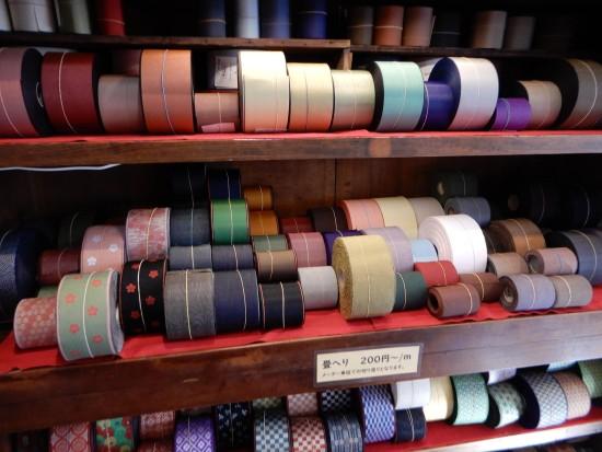 ■シンプルで選びやすい色合いの畳へり