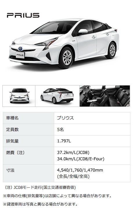 トヨタ 新型プリウス PRIUS 2015
